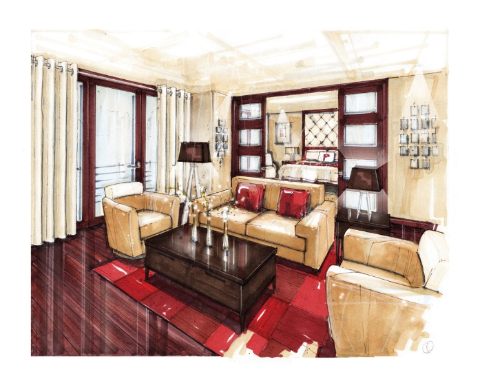 I Rendering Architectural Renderingperspectivedesignartexterior Interiorsketchinglandscapefurnituregraphic Media